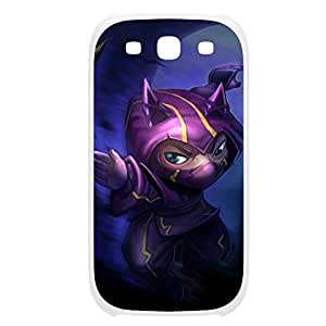 Kennen-001 League of Legends LoL case cover Samsung Galaxy S5 I9600/G9006/G9008 Plastic White