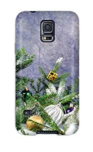 Megan S Deitz's Shop Special Design Back Holiday Christmas Phone Case Cover For Galaxy S5