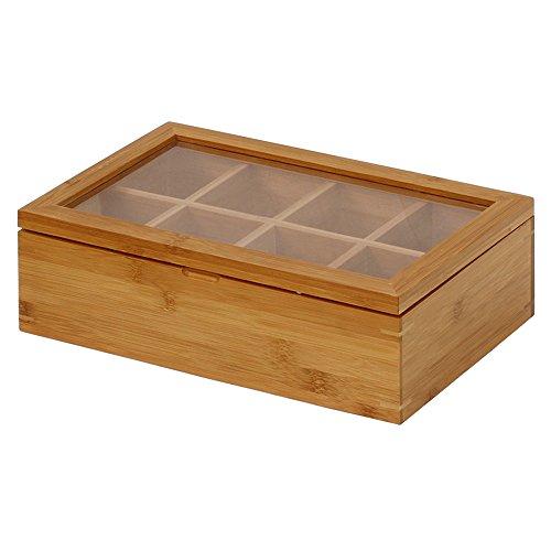 Oceanstar Bamboo Tea Box, Natural by Oceanstar (Image #2)