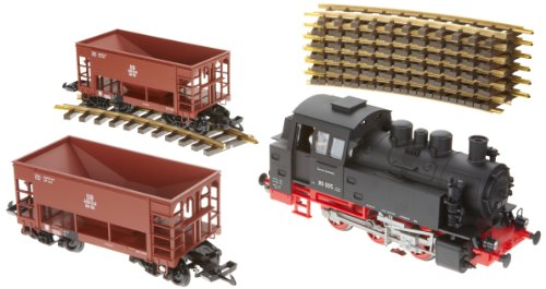 PIKO G SCALE MODEL TRAINS - DB BR80 ORE STARTER SET (120V) - 37100 by Piko