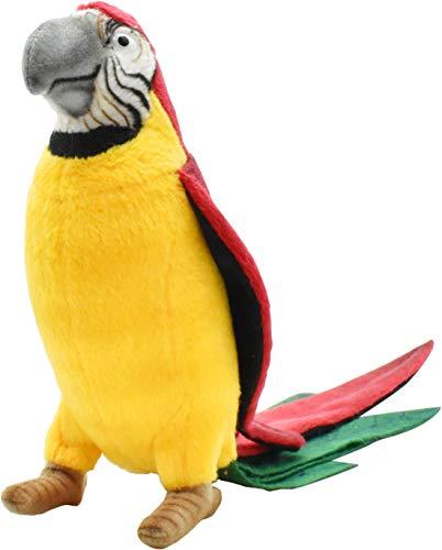 (Hansa Parrot Plush Animal Toy, 7
