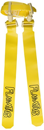 (Flag-a-Tag Sonic Boom Flag Belts, Gold, 52-inch (One)