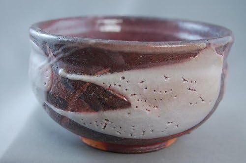 『志野焼 抹茶茶碗』陶芸家 荒川明作(ach-30) 木箱付き こだわりのギフト、還暦祝いなどの 贈り物に最適 無料ラッピング承ります