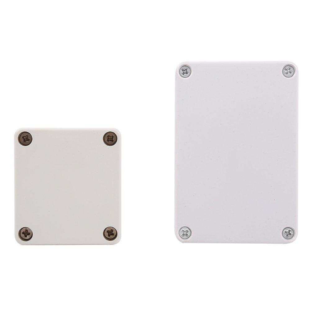 1 pc Bo/îte de jonction imperm/éable couleur blanche 100x68x50mm Connecteur imperm/éable,Bo/îtier /étanche ext/érieur
