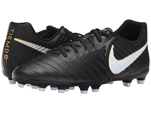 回転ホイールアシスタント(ナイキ) NIKE メンズサッカーシューズ?インドア?靴 Tiempo Rio IV FG Black/White/Black 6.5 (24.5cm) D - Medium