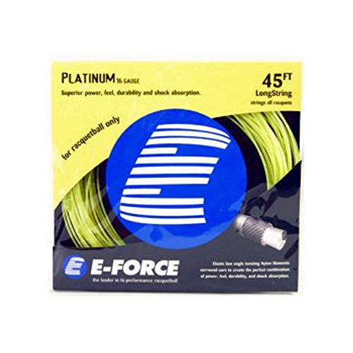 E-Force Platinum Yellow String Set