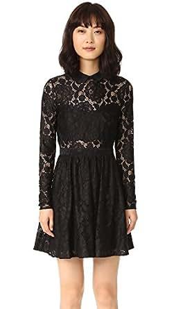 LIKELY Women's Fillmore Dress, Black, 4