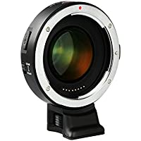 VILTROX EF-E II F Booster Auto-focus Focal Reducer Booster Adapter For Sony E mount APS-C camera & Canon EF mount lenses , with CDAF PDAF Switch USB firmware update