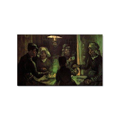Van Vincent Potato The Gogh Eaters (The Potato Eaters By Vincent Van Gogh Magnet)