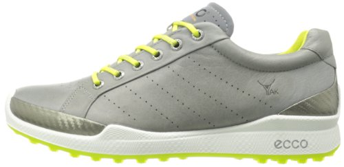 Biom Hybrid Golf Shoes Warm Grey-Lime Punch 43: Amazon.co.uk: Shoes & Bags