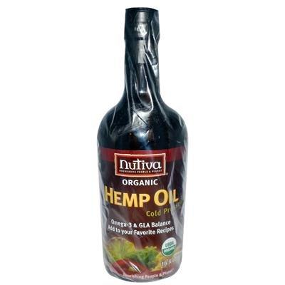 Nutiva Organic Hempseed Oil, 16 Ounce - 3 per case.