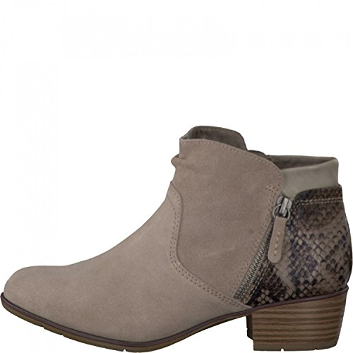 Jana Ladies Summer Boot 8-25301-26-324 Pepper Beige, Gr. 36-41, H Width, Leather, A. 4 cm Beige