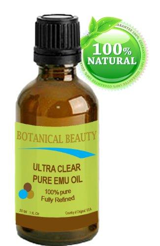 UEM HUILE Ultra Clear. 100% Pure / naturel / or / entièrement raffinée. (1-fl.oz 30 ml).