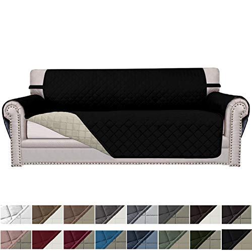 Easy-Going Sofa Slipcover Reversible Sofa Cover Furniture Protector Couch Cover Elastic Straps Pets