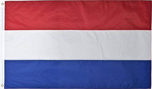 Green Grove Products Netherlands 3 x 5 Ft 210D Nylon Premium Outdoor Dutch Flag