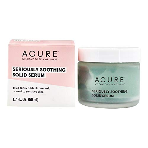- Acure Seriously Soothing Blue Tansy Solid Serum, 1.7 Fluid Ounce
