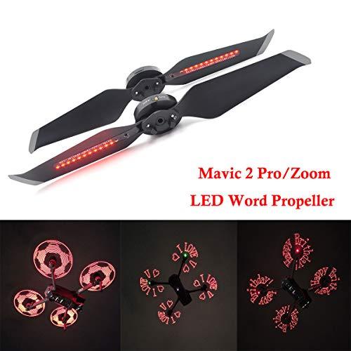 Mavic 2 Pro Propellers,STARTRC Programmable LED Flash Propeller Compatible with Mavic 2 Pro/Mavic 2 Zoom Drone 1 Pair