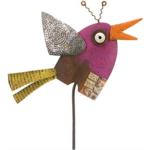 Regal Art & Gift 10 Inches x 0.75 Inches x 45.25 Inches Diggity Garden Stake Bird]()
