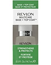 Revlon 2-in-1 Base & Top Coat Nail Care, 0.5 Fluid Ounce