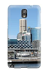 Durable Defender Case For Galaxy Note 3 Tpu Cover(sydney City) 4720688K40923605