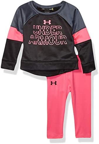 Under Armour Baby Girls Long Sleeve Fleece and Legging Set