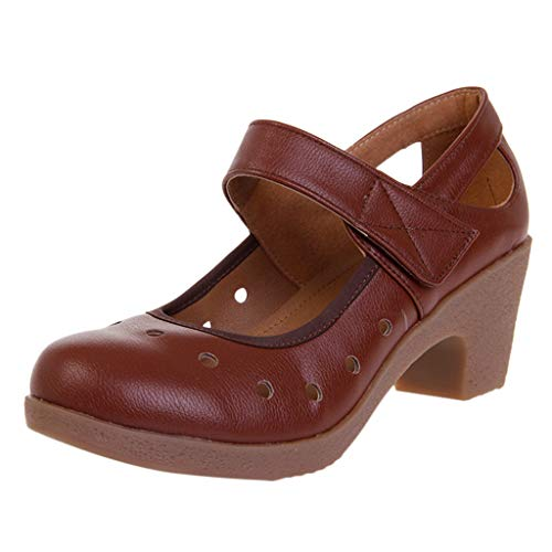 Xinantime Jazz Shoes Ladys Girls Modern Split-Sole Dance Sneakers for Ballroom Breathable Lightweight Outdoor Shoes Brown
