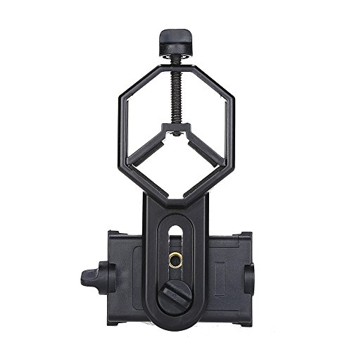 BOBLOV cm-4 Cellphone Adapter Mount Compatible with Diameter 25mm-48mm Binocular/Monocular/Spotting Scope/Microscope/Hunting Scope/Astrophotography Compatible Samsung/iPhone/Galaxy/Huawei and More