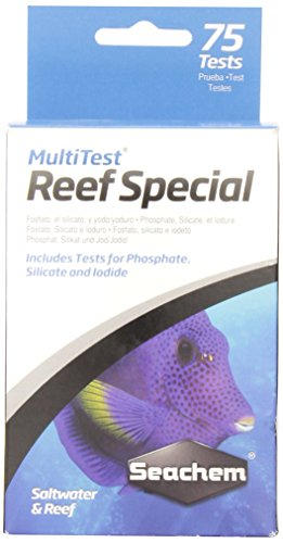 Seachem Laboratories Multi-Test Reef Special (75 tests)