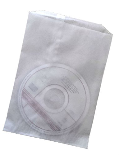 Bags Favor Glassine (Flat Large Glassine Wax Paper Bags (100-pack), 5 1/2