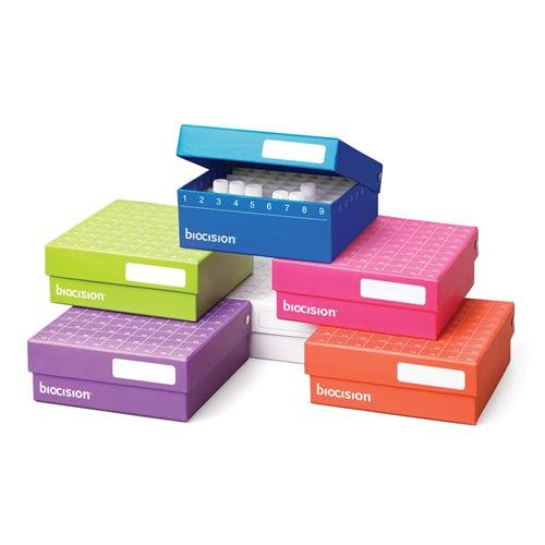- BioCision BCS-206MC TruCool Hinged CryoBox, 81-Place, Multi-Color (Pack of 5)