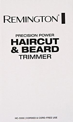 Remington HC5550AM Precision Power Haircut & Beard Trimmer, Hair Clippers, Beard Trimmer, Clippers by Remington (Image #4)