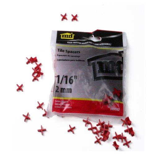 M-D Building Products 49164 3/16-Inch Tile Spacers, 150/Bag