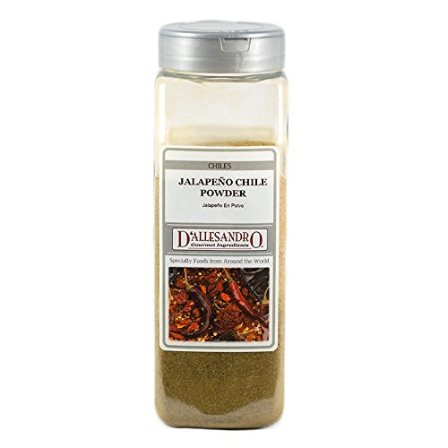 Jalapeno Chile Powder, 16 Oz - Chile Pepper Jalapeno