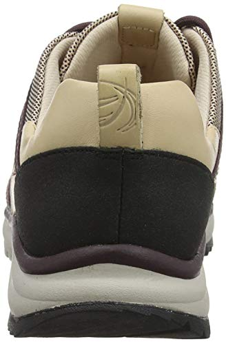 Femme Combi Beige Pink Tri Basses Sneakers Clarks Trail nude wxqnPRIgBv