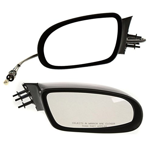 Koolzap For 95-96 Chevy Caprice Manual Remote Fold Rear View Mirror Left Right Side SET PAIR
