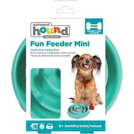 Outward Hound Fun Feeder Slo Bowl – Slow Feeder Dog Bowl