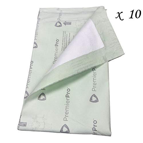 10 PremierPro Quilted Super Maximum Absorbent Underpad - 30'' x 36'' - 6613PP
