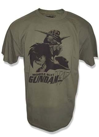 Gundam Wing Heero Yuy and Wing T-Shirt (L)