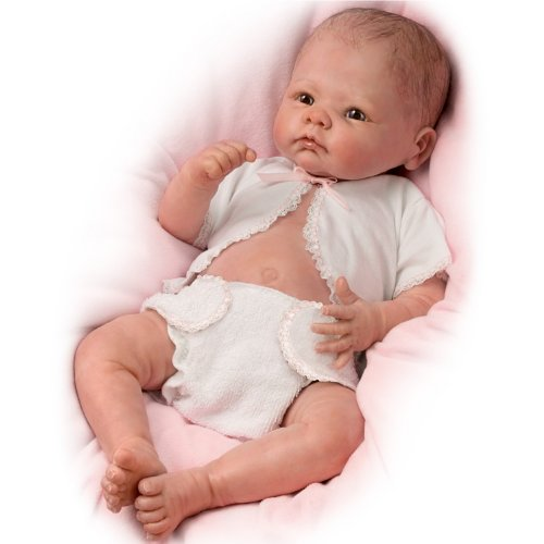 Little Grace So Truly Real Lifelike, Realistic Newborn Baby Doll 20-inches by The Ashton-Drake (Ashton Drake Newborn Doll)