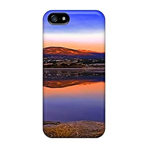 For Iphone 5/5s Tpu Phone Case Cover(a Silence Moment) by ruishername