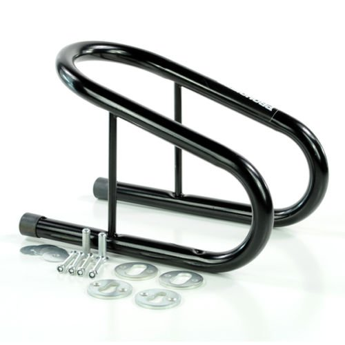 Prohoists 3.5 Inch Motorcycle Hauler Carrier Removable Wheel Chock for Trailer