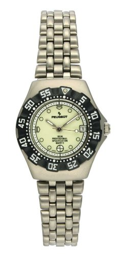 Peugeot Women's 181GL Silver-Tone Sport Bracelet Watch