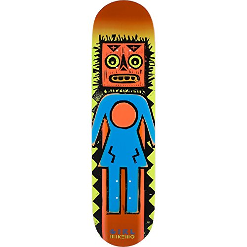 Girl Skateboards Mike Mo Capaldi Tiki OG Skateboard Deck - 8