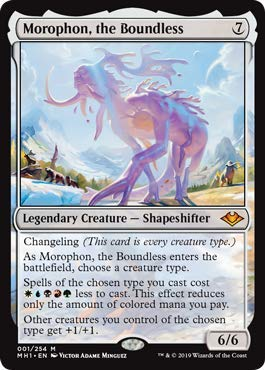 Magic: The Gathering - Morophon, The Boundless - Foil - Modern Horizons