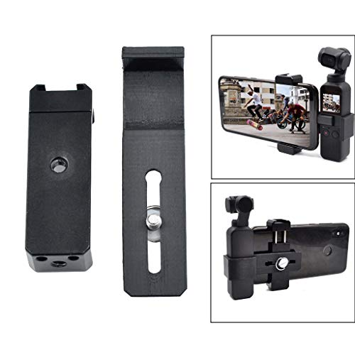 ♛Euone Clearance♛, OSMO Accessories Smartphone Holder Mount Bracket for DJI OSMO Pocket Gimbal ()