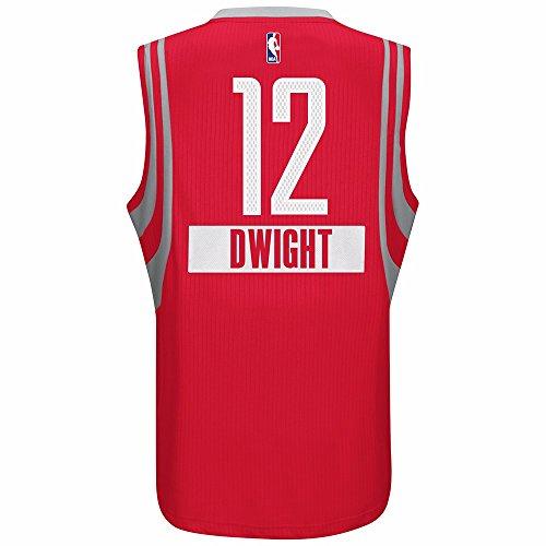 (adidas Dwight Howard Houston Rockets NBA Men's Red 2014 Christmas Day Swingman Climacool Jersey (L) )