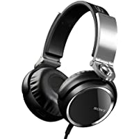 Sony MDRXB800 Extra Bass Over The Head 50mm Driver Headphone, Black
