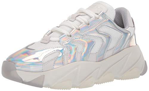 Ash Women's AS-Extreme Sneaker Silver/White 37 M EU (7 US) ()