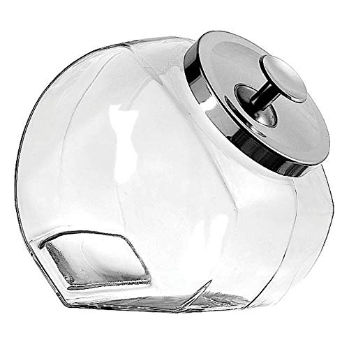 Anchor 77899 Penny Candy Jar (Small Glass Cookie Jars With Lids)