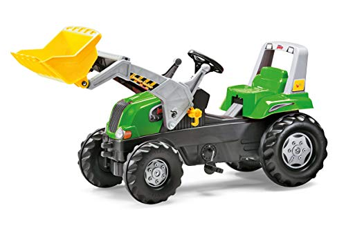 - Rolly Toys Junior Front Loader RT Tractor, Green